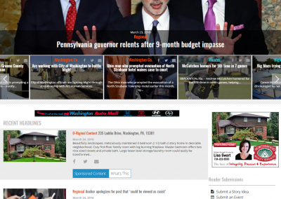 235 Laddie Dr Homepage Screenshot