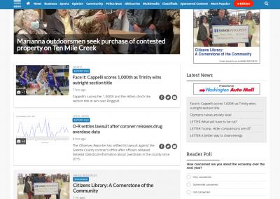 Range Resources 020918 screenshot - homepage