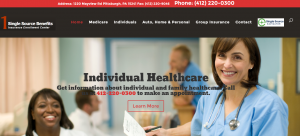individual healthcare sample site